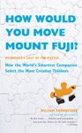 How Would You Move Mount Fuji