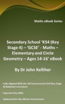 Secondary School KS4 Key Stage 4  GCSE - Maths  Elementary And Circle Geometry  Ages 14-16 EBook