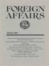 Foreign Affairs - Spring 1980