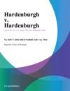 Hardenburgh V Hardenburgh