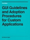 GUI Guidelines And Adoption Procedures For Custom Applications