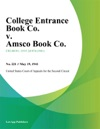 College Entrance Book Co V Amsco Book Co