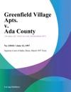 Greenfield Village Apts V Ada County