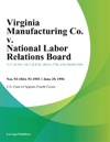 Virginia Manufacturing Co V National Labor Relations Board