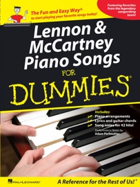 LENNON & MCCARTNEY PIANO SONGS FOR DUMMIES (MUSIC INSTRUCTION)