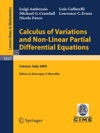Calculus Of Variations And Nonlinear Partial Differential Equations