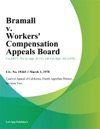 Bramall V Workers Compensation Appeals Board