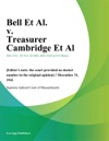 Bell Et Al V Treasurer Cambridge Et Al