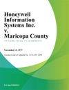 Honeywell Information Systems Inc V Maricopa County