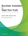Keystone Associates V State New York