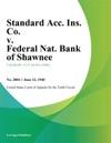 Standard Acc Ins Co V Federal Nat Bank Of Shawnee