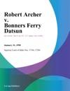 Robert Archer V Bonners Ferry Datsun