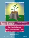 Bible Basics For New Believers - Vietnamese And English Languages