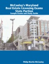 McCaulays Maryland Real Estate Licensing Exams State Portion Sample Exams And Study Guide