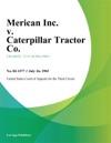 Merican Inc V Caterpillar Tractor Co