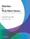 Martino V Wal-Mart Stores