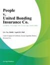 People V United Bonding Insurance Co