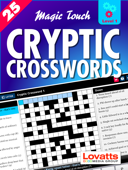 Magic Touch Cryptic Crosswords #1