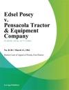 Edsel Posey V Pensacola Tractor  Equipment Company