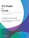 U People V Lewin