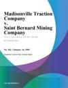 Madisonville Traction Company V Saint Bernard Mining Company