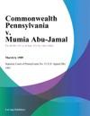 Commonwealth Pennsylvania V Mumia Abu-Jamal