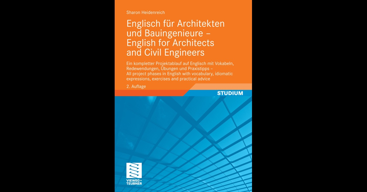Englisch f r architekten und bauingenieure english for for English for architects