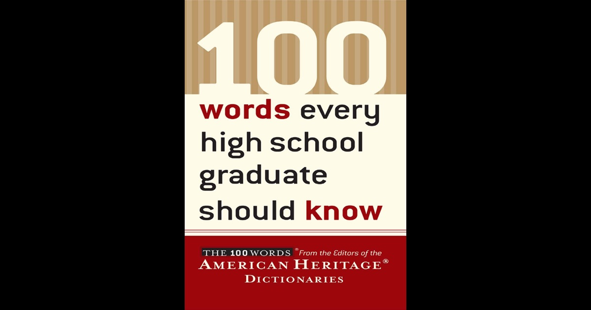 american heritage high school dictionary
