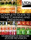 Complete Guide To Home Canning And Preserving 2009 Revision