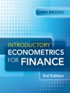 Introductory Econometrics For Finance 3rd Edition