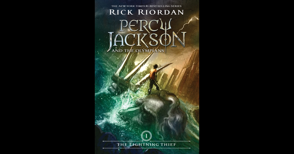 The Lightning Thief Percy Jackson And The Olympians Book 1 By Rick Riordan