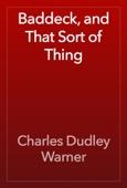 Charles Dudley Warner - Baddeck, and That Sort of Thing artwork
