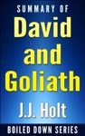 Summary Of David And Goliath Underdogs Misfits And The Art Of Battling Giants