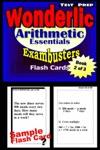 Wonderlic Test Prep Arithmetic Review--Exambusters Flash Cards--Workbook 2 Of 3