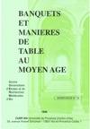 Banquets Et Manires De Table Au Moyen Ge
