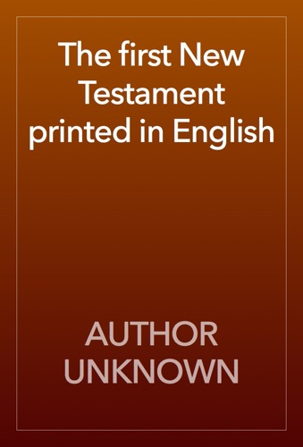 The first New Testament printed in English