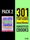 Pack 2 Fantsticos Ebooks N030 Cmo Crear Fuentes De Ingresos Pasivos Para Lograr La Libertad Financiera  301 Chistes Cortos Y Muy Buenos