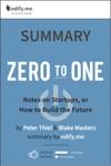 Summary Zero To One By Peter Thiel  Blake Masters