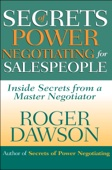 Roger Dawson - Secrets of Power Negotiating for Salespeople artwork