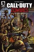 Call of Duty: Zombies #4 - Justin Jordan, Jonathan Wayshak, Dan Jackson & Simon Bisley Cover Art