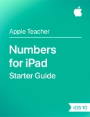 Numbers for iPad iOS 10