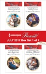Harlequin Presents July 2017 - Box Set 1 Of 2