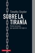 Timothy Snyder - Sobre la tiranía portada
