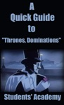 A Quick Guide To Thrones Dominations
