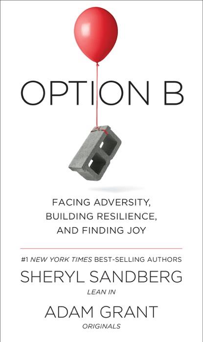 Option B Sheryl Sandberg  Adam Grant Book