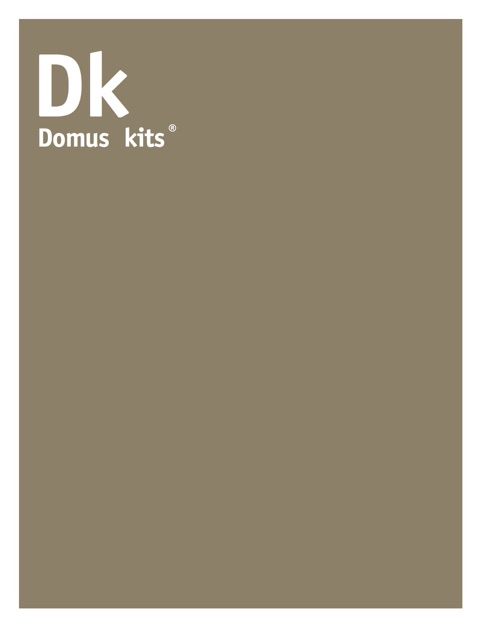 Domus kits by ohdigital on ibooks for Domus book collection