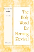 Similar eBook: The Holy Word for Morning Revival - Crystallization-study of Ezekiel, Volume 1