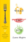What She Ate - Laura Shapiro Cover Art