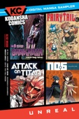 Various - Kodansha Comics Digital Sampler - UNREAL Volume 1  artwork