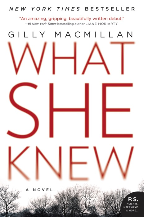 What She Knew Gilly MacMillan Book